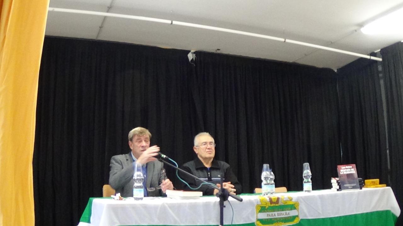 Luis Melero en el IES Galileo