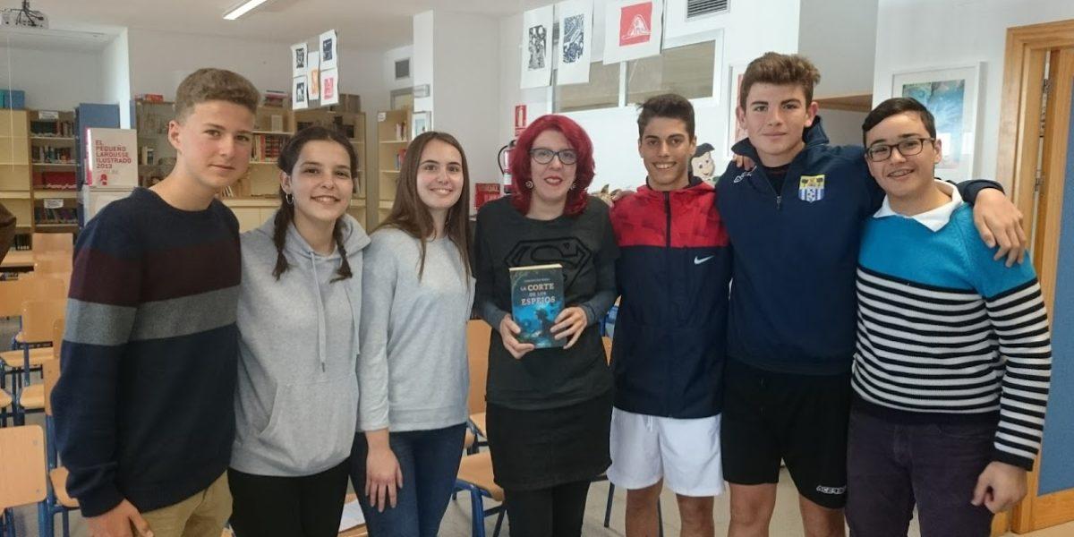 Visita de la escritora Concepción Perea