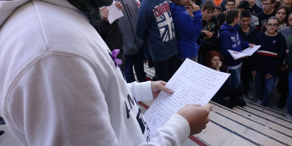 25 de noviembre – Manifiesto del alumnado