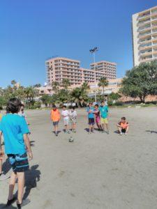 1º Eso: multideporte en la playa