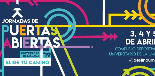 JORNADAS DE PUERTAS ABIERTAS 2019 UMA